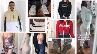 WINTER ALIEXPRESS & SAMMYDRESS TRY-ON HAUL & REVIEW 2018!! | Women and Men! CHEAP