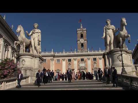 Staatsbezoek aan Italië