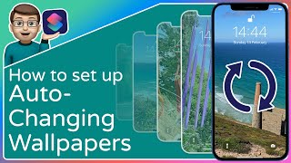 Auto-Changing Wallpapers on your iPhone?!  [Step-by-Step with the Shortcuts App] screenshot 3