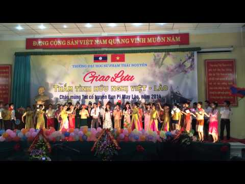 Thắm Tình Hữu Nghị Việt - Lào