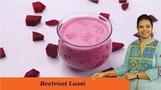 BEETROOT LASSI - Mrs Vahchef
