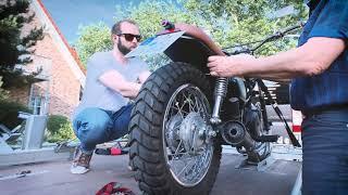 Anleitung: Motorrad auf Anhänger sichern (How-To | BikeTrailer24.de | 6er Trailer)