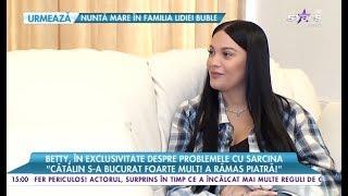 """betty salam vorbeşte în exclusivitate despre problemele cu sarcina """"mi a fost foarte rău"""""""