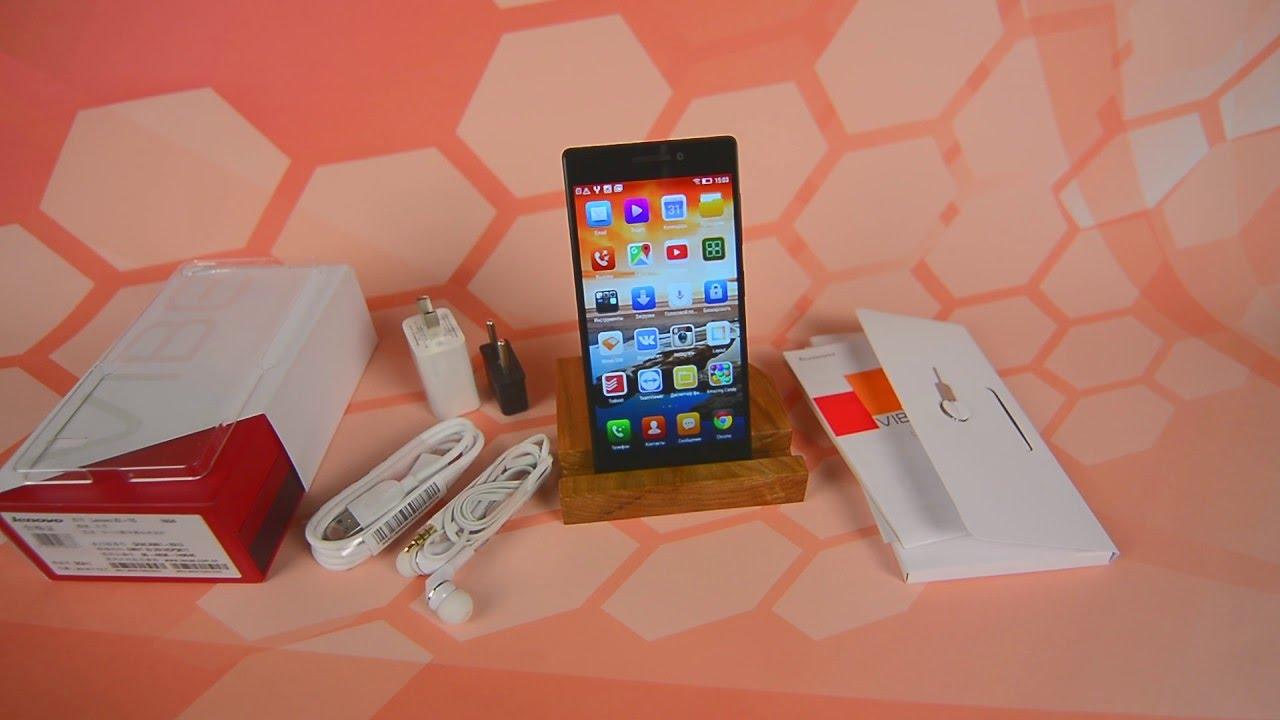 Видео обзор смартфона Lenovo Vibe X2 - YouTube