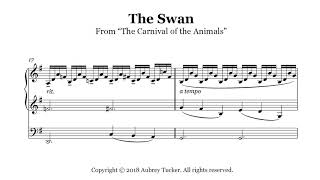 Organ: Camille Saint-Saëns The Swan (Le Cygne) from 'The Carnival of the Animals'