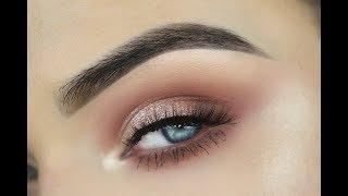 NEW Cover FX Shimmer Veil + Morphe 24G   Eye Makeup Tutorial