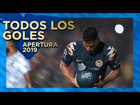 Todos los goles | Club América | torneo Apertura 2019 fase regular