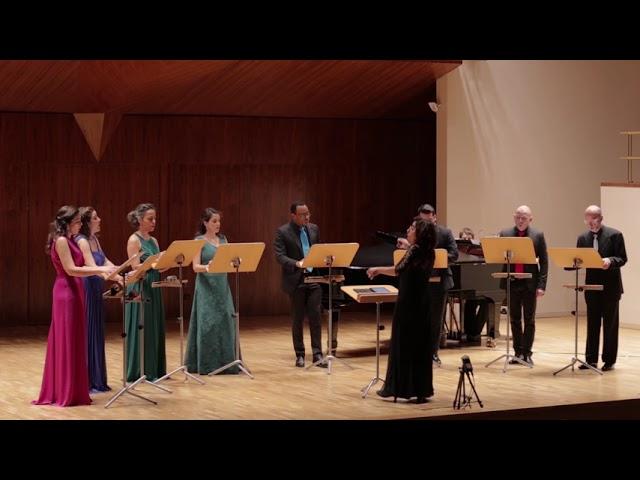 Dos canciones del mar, J.  Torres. Ensemble Vocal Mirtos. Dir. Nuria Fernández Herranz.