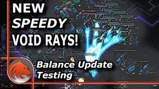 StarCraft 2: *NEW* Void Rays are...AMAZIN!