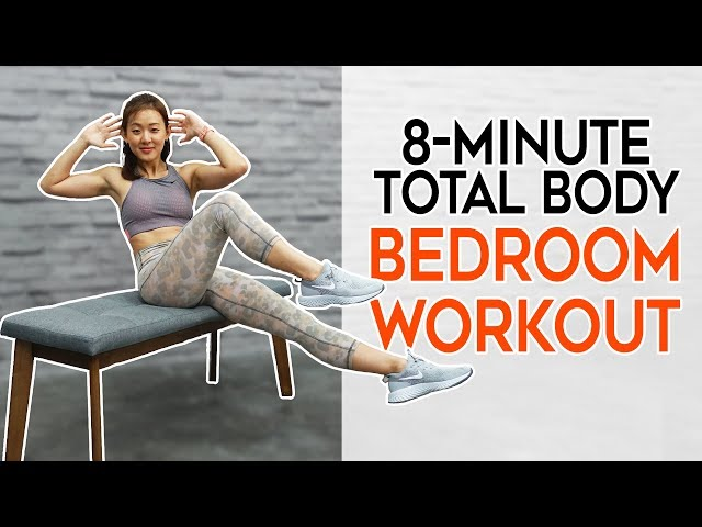 8-Minute Total Body BEDROOM Workout | No Weights, No Jumping | Joanna Soh
