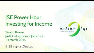 JSE Power Hour: Investing for income