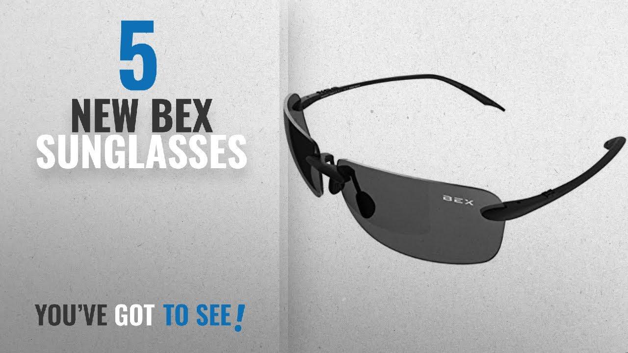 6401411b05 Top 10 Bex Sunglasses   Winter 2018    BEX Jaxyn III Black Gray ...