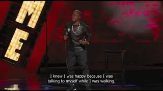 Kevin Hart - I'm happy (Let Me Explain) with English subtitles