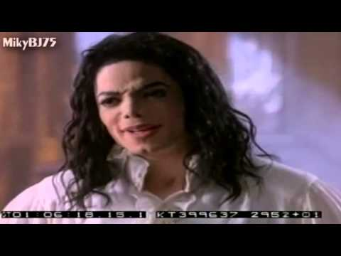 Michael Jackson - Making Of Ghost Rare ( With Music & Michael's voice.)
