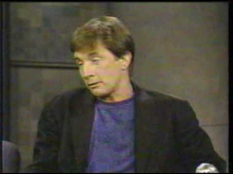 Martin Short on Letterman, 8291