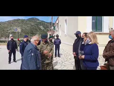 Οθωνοί: Συνομιλία ΜΑΡΙΛΕΝΑ ΜΑΣΤΟΡΑ με αρχηγό ΓΕΕΘΑ