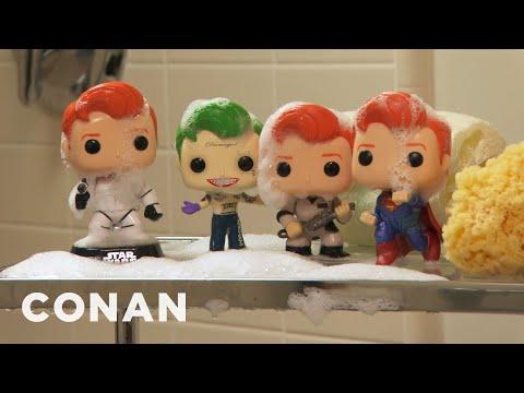 Conan Unveils His New Pop Vinyl Figures Conan On Tbs