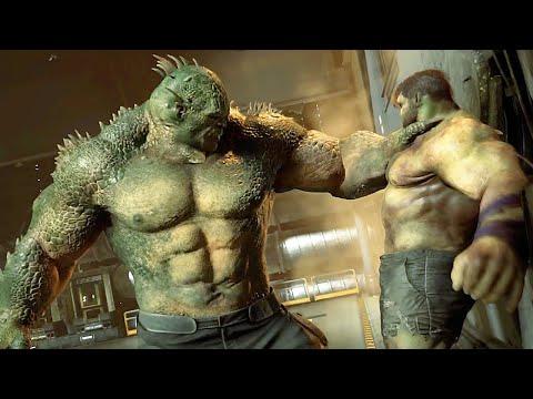MARVEL'S AVENGERS Abomination Boss Fight (Hulk Vs Abomination)
