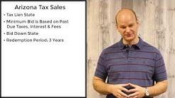 Arizona Tax Sales - Tax Liens