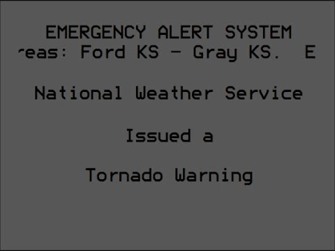 EAS: Tornado Warning in Dodge City, KS