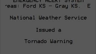 EAS: Tornado Warning in Dodge City, KS
