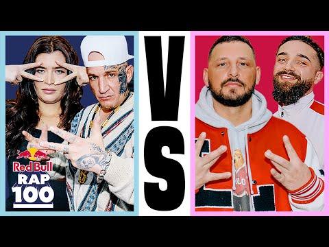MC Bogy & Nina Damsch VS Bass Sultan Hengzt & Zino | Rap Duell #17 | Red Bull Rap Einhundert