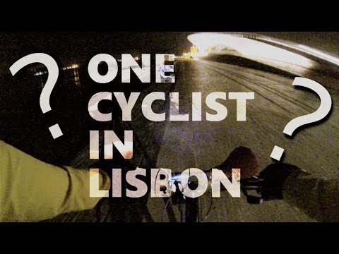 Who is the One Cyclist in Lisbon ?