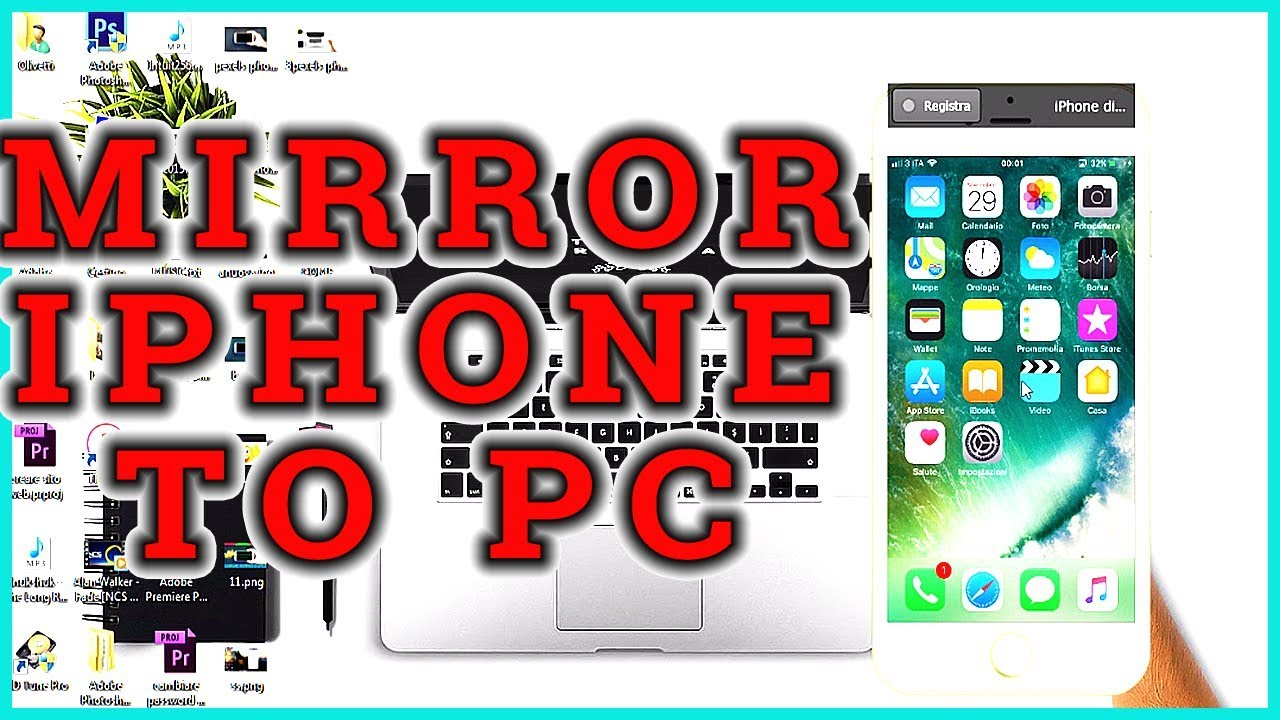 screen share iphone how to screen iphone to pc 12924