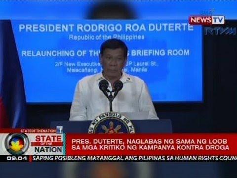 Pres. Duterte, nagbanta laban sa ambassadors ng European countries