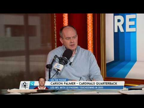 Arizona Cardinals QB Carson Palmer on How Tom Brady Stays Young - 2/10/17
