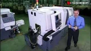 Производство, обзор и работа токарного станка с ЧПУ Po Ly Gim SwissTurn Zeit 8-Axis