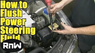 How to Flush Your Power Steering Fluid - DIY and Save Money