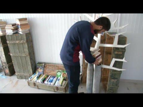 صناديق ذخيرة في ليبيا.. تشجع على القراءة بدلاً من الموت  - نشر قبل 1 ساعة