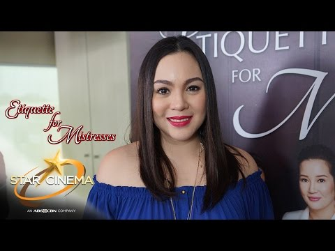 Bloggers Conference with Claudine Barretto