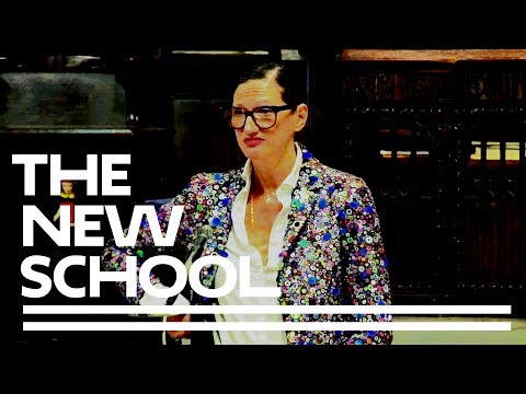 Jenna Lyons at Parsons' AAS Fashion Design and Fashion Marketing 2017 Recognition Ceremony