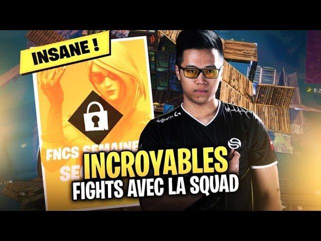 INCROYABLES FIGHTS AVEC LA SQUAD ► DEMIE FINALE FNCS #3
