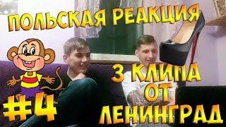 ПОЛЬСКАЯ РЕАКЦИЯ #4 - РЕАКЦИЯ НА ЛЕНИНГРАД (3 песни)