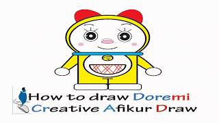 How to draw Doremi ( in illustrator step by step)