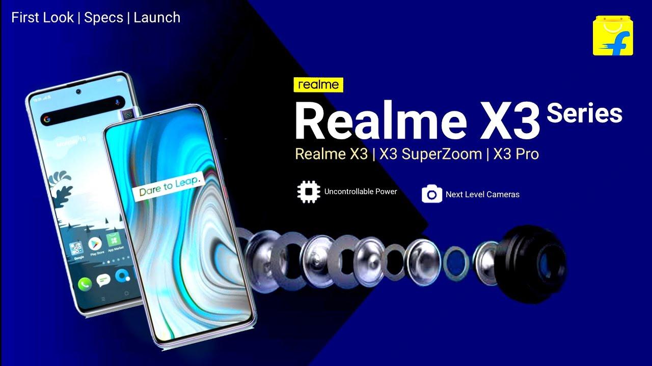 Realme X3 Series Official Launch Specs Price Realme X3 Realme