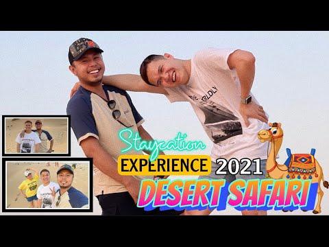Desert Safari Experience 2021 BIRTHDAY Staycation HappyMoments OFW DUBAI EXPO2020