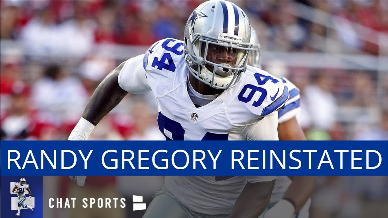 Dallas Cowboys  Randy Gregory Reinstated By NFL - YouTube b0c892243