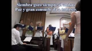Siembra Gozo -  Himnos SUD  no. 150