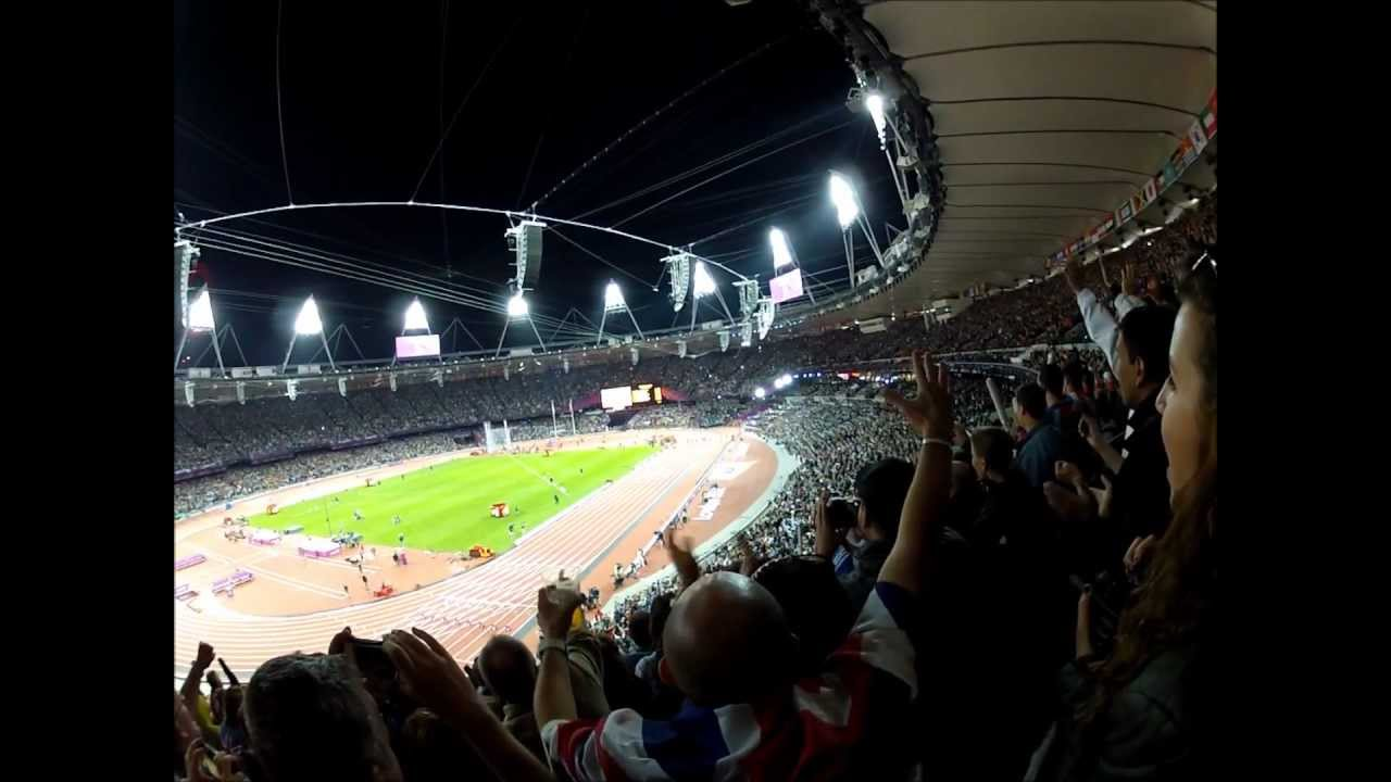 Usain Bolt wins 100m Final in 9.63 Olympic Record filmed ...