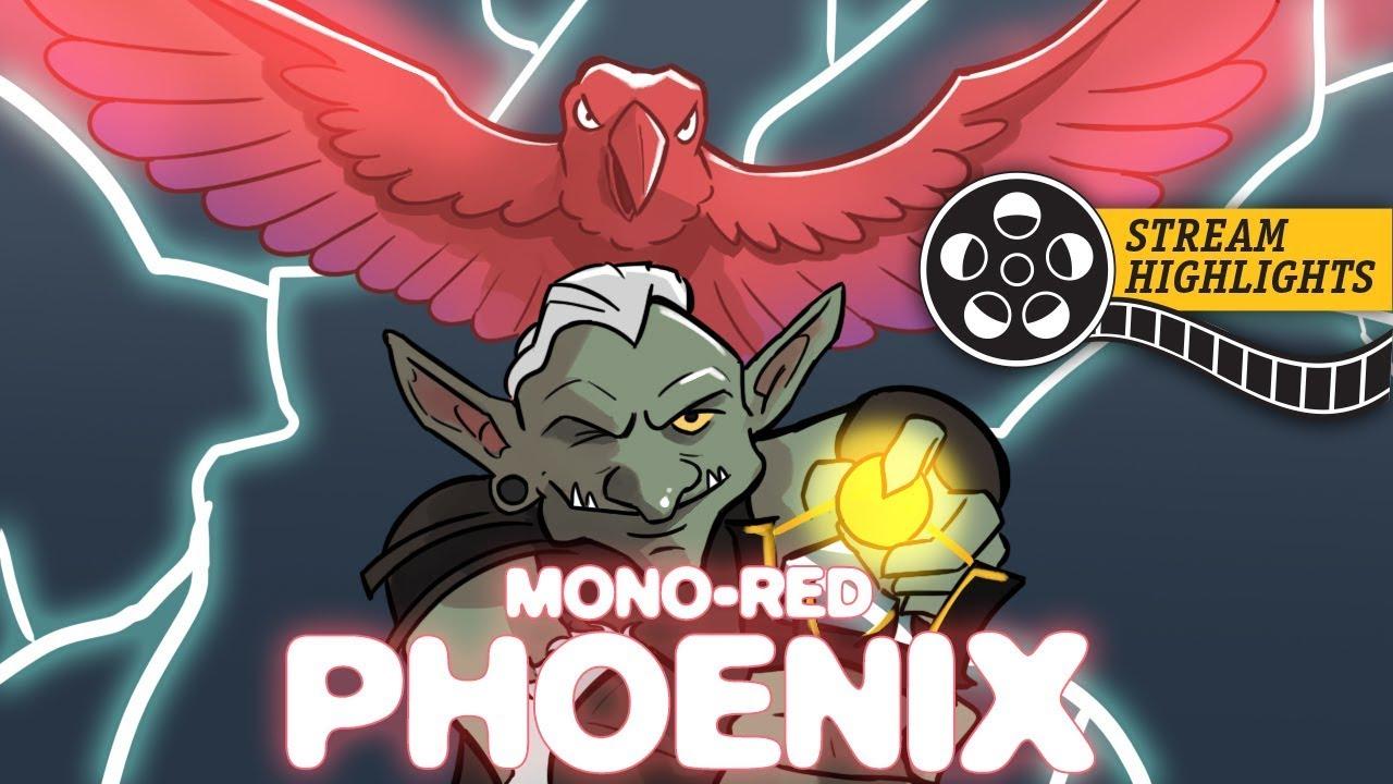 Memekin (Mono-Red Phoenix, Standard) – Stream Highlights