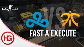 Cloud9 vs Fnatic - Train, Fast A Execute (CS:GO Strategy Breakdown #11)