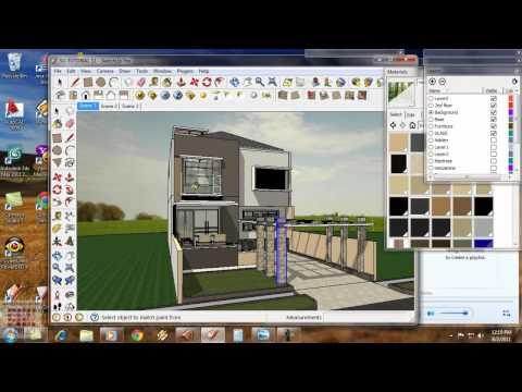 Google Sketchup-Tutorial 11- Animasi Eksterior Vray-Bahasa Indonesia