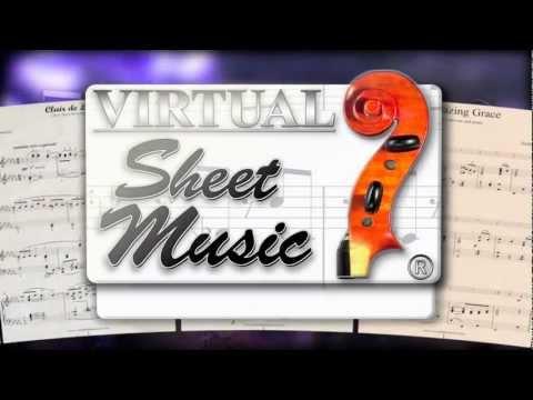 Amazing Grace sheet music for piano trio - Video Score