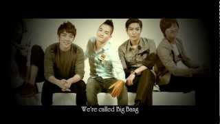 Big Bang - We Are Big Bang (Intro) [Eng Sub]