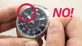 When NOT To Change The DATE on a Watch (and how to do it properly)