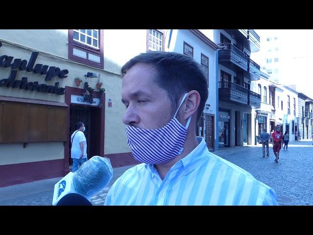 Declaraciones del presidente del Cabildo de La Palma sobre el reparto de Mascarillas.